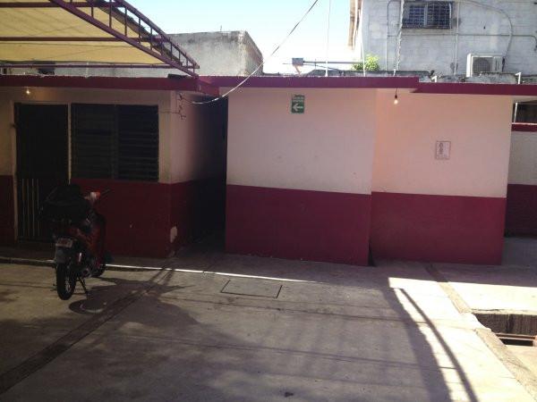 A view of the cafeteria at Escuela Josefa Ortiz De Domingue in Culican, Sinaloa, Meixco