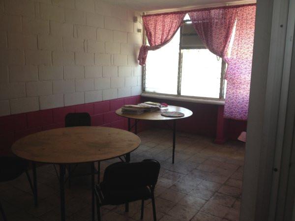 A view of a room next to the library at Escuela Josefa Ortiz De Domingue in Culican, Sinaloa, Meixco