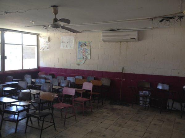 Classroom at Escuela Josefa Ortiz De Domingue in Culican, Sinaloa, Meixco