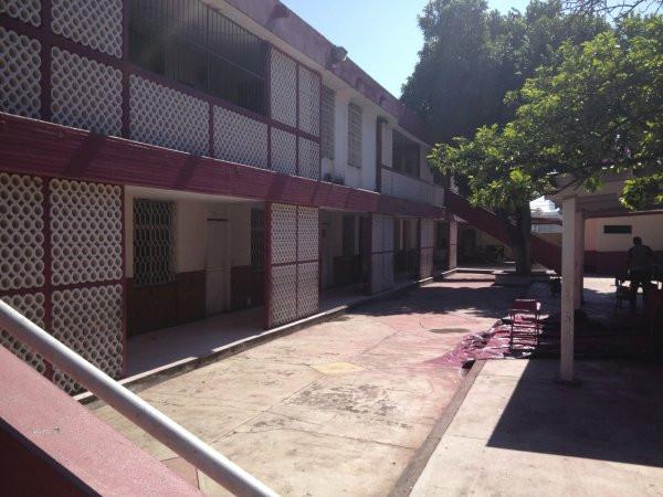 Outside view at Escuela Josefa Ortiz De Domingue in Culican, Sinaloa, Meixco