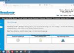 Internal Messenger Page